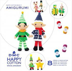 DMC Happy Chenille Amigurumi Book 7 Christmas Couples
