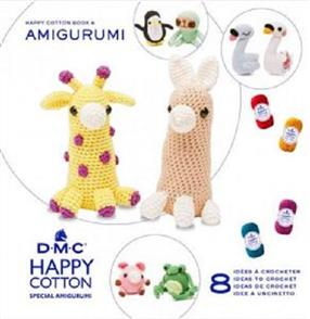 DMC Happy Chenille Amigurumi Book 8 One Shape, Two Ways