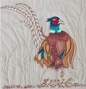 Hazel Blomkamp - Dave the Pheasant - Print & Bead Pack
