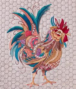 Hazel Blomkamp  - Colin the Rooster - Print & Bead Pack