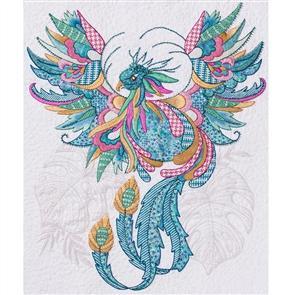 Hazel Blomkamp - Claude the Phoenix - Print & Bead Pack