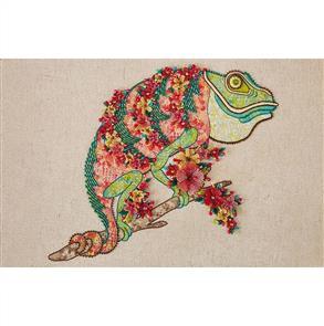 Hazel Blomkamp - Clive the Chameleon - Print & Bead Pack