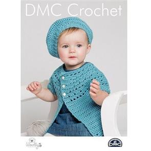 DMC  Crochet - Woolly 5 - Belle Beret and Cardigan