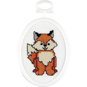 Janlynn  Mini Cross Stitch Kit: Fox