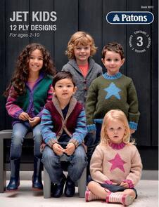 Patons Jet Kids Booklet 8012