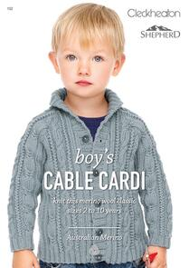 Shepherd Boy's Cable Cardi 152