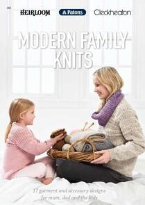 Patons Heirloom//Cleckheaton: Modern Family Knits