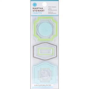 Martha Stewart  Clear Stamps Set - Labels