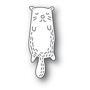 Poppystamps  Whittle Otter - Die