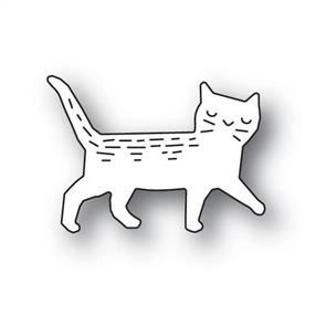 Poppystamps  Whittle Cat - Die