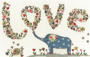 Bothy Threads  Love Elly - Cross Stitch Kit