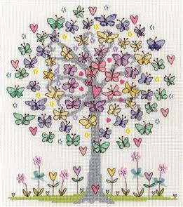 Bothy Threads  Love Spring - Cross Stitch Kit