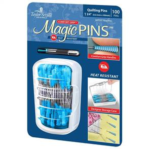 Taylor Seville  Magic Pins - Quilting Pins - 100pc