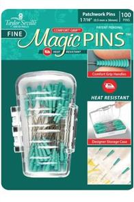 "Taylor Seville  Magic Pins Quilting Fine 50pc 1 7/16"" (0.5mm X 36mm)"