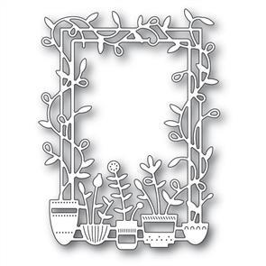 Poppystamps  Spring Pots Frame - Die