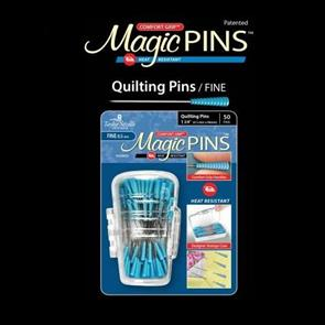 "Taylor Seville  Magic Pins Quilting Fine 50pc 1/34"" (0.5mm X 48mm)"