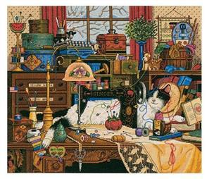 Dimensions  Maggie the Messmaker - Cross Stitch Kit