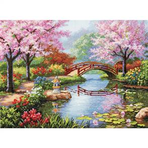 Dimensions  Japanese Garden - Cross Stitch Kit