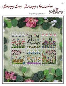 The Victoria Sampler  Spring Has Sprung Sampler