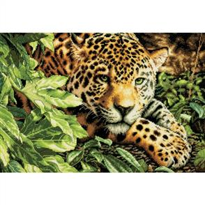 Dimensions  Leopard in Repose - Cross Stitch Kit