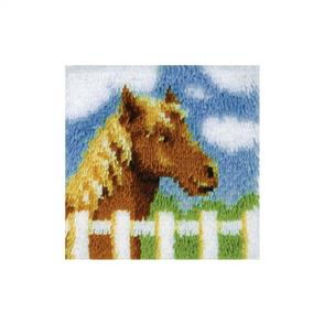 "Caron Wonderart  Latch Hook Kit - Pony - 12"" x 12"""