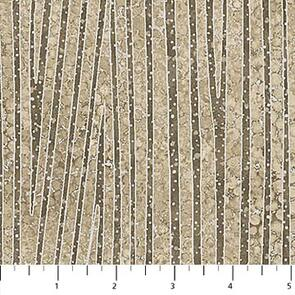 Northcott  - Fabric - Shimmer by Deborah Edwards - Meandering Stream - 22996M-12