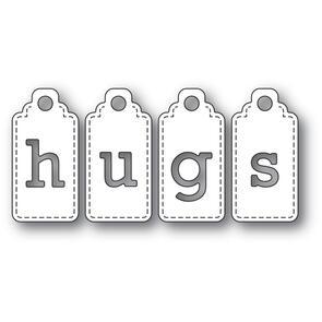 Poppystamps  Hugs Tags Die