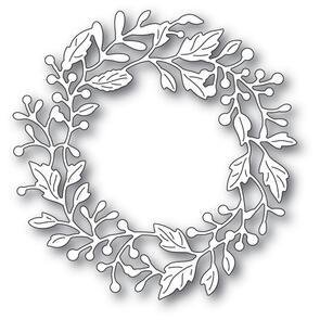 Poppystamps  Adriana Wreath craft die