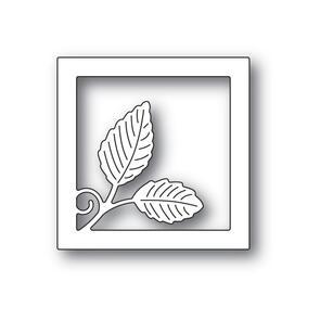 Poppystamps  Intricate Leaf Square Frame
