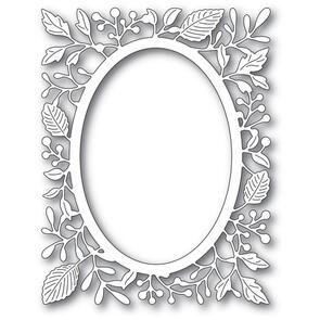 Poppystamps  Adrianna Oval Frame