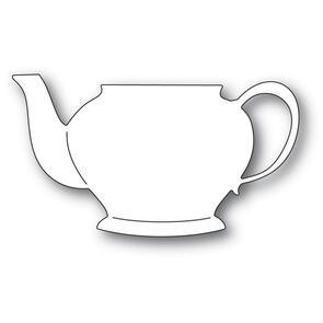 Poppystamps  Grandma's Teapot Die