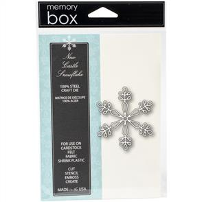 Memory Box  Die - New Castle Snowflake - Christmas!