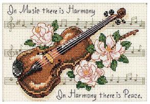 Dimensions  Music is Harmony  Cross Stitch Kit