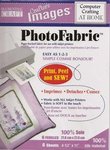 Blumenthal Crafts  Photo Fabric - Sew on Printer Fabric (SILK)