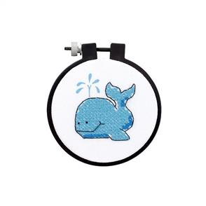 Dimensions  Learn-A-Craft Counted Cross Stitch Kit - The Whale