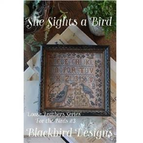 Blackbird Designs She Sights a Bird