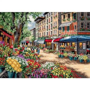 Dimensions  Paris Market - Gold Collection Cross Stitch Kit