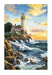 Dimensions  Rocky Point - Lighthouse - Cross Stitch Kit