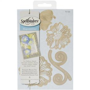 Spellbinders  Shapeabilities Dies - Romantic Blooms