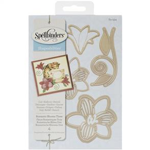 Spellbinders  Shapeabilities Dies Romantic Blooms 3