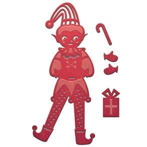 Spellbinders  Die D-Lites - Elf Boy - Christmas