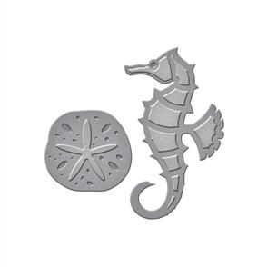 Spellbinders  Dies - Seahorse & Sand Dollar