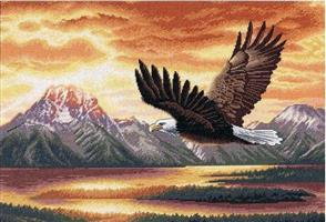 Dimensions  Silent Flight - Gold Collection Cross Stitch Kit