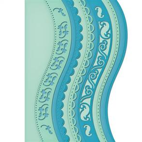 Spellbinders  Card Creator - Curved Borders One