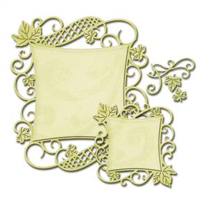 Spellbinders  Decorative Square Nestabilities Dies