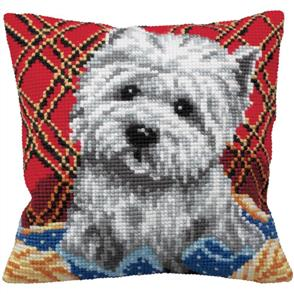 Collection D'Art  Tapestry Kit - Bichon - Dog