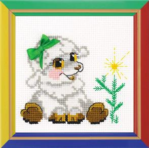 Riolis  Little Lamb - Cross Stitch Kit