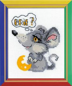 Riolis  Dreamy Mouse - Cross Stitch Kit