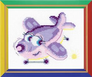 Riolis  Birdie - Cross Stitch Kit