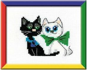Riolis  Happy Pair - Cross Stitch Kit